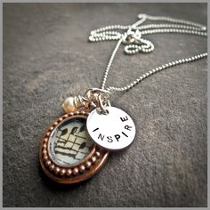 """""""Music Notes Photo Pendant"""" by the Vintage Chain"""