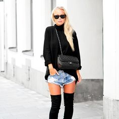 11 formas de usar otk boots e short jeans