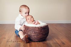 cute big brother/little sister photo. So doing this when our little girl arrives!!!
