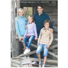 Sweaters in Hayfield Bonus Aran - Digital Version