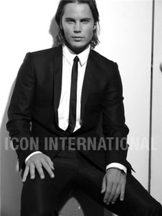 there's something about a handsome man in a suit...