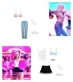 """Hyuna - roll deep mv"" by littlesweetheart123 ❤ liked on Polyvore featuring La Perla, Splendid, Hue, Humble Chic, Calvin Klein Underwear, Topshop and Vans"