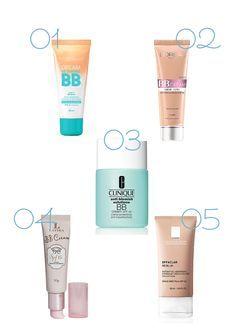 5 BB Creams para pele oleosa