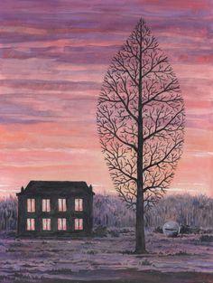 René Magritte:  La recherche de l'absolu (c.1963)