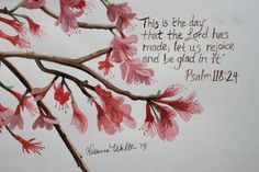 These 8x10 original watercolor paintings feature a scripture verse along with a hand-painted image to go along with it. Choose from these