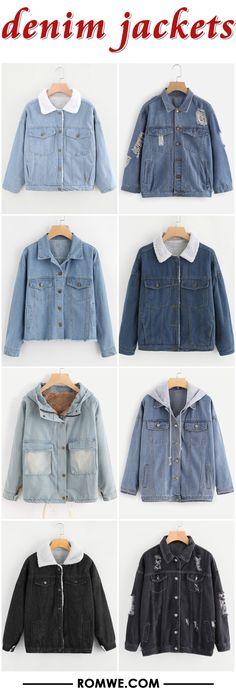 denim jackets from ronwe.com