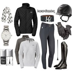 Inspired by North Face by bacardiandeq on Polyvore featuring The North Face, Christian Dior, Roeckl and Kate Spade