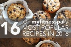 16 of MyFitnessPal's Most Popular Recipes in 2016