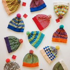 hats by annie larson at all knitwear