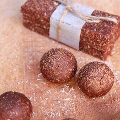 coconut cocoa sticks with peanut butter