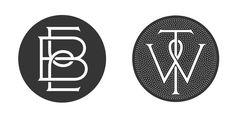 EB and TW Monograms