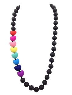 Forget Me Not Silicone Teething Necklace