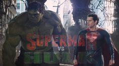 Superman vs Hulk Epic Battle Trailer