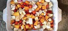 Roasted Root Veg.