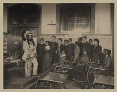 Louis Firetail, wearing Sioux tribal clothing, in an American history class at Hampton Institute. Founded as an African American college during the Civil war for African Americans, the majority of its students became teachers. Karl Blossfeldt, Robert Frank, Martin Parr, Martin Luther, Edward Weston, Tim Walker, Robert Doisneau, Lewis Carroll, Native American History