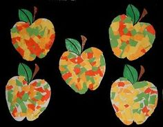 PATOUILLONS Plus Preschool Apple Theme, Fall Preschool, Kindergarten Crafts, Preschool Crafts, Autumn Crafts, Autumn Art, Autumn Activities For Kids, Preschool Activities, Crafts To Make