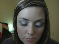 Maquiagem Usando Cinza, prata e preto