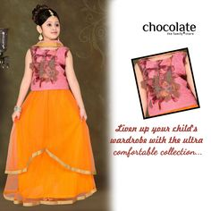 Liven up ur child's wardrobe with d ultra comfortable collection only with Chocolate family www.chocolatefamily.com