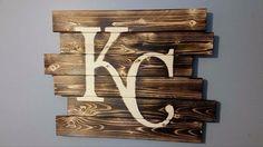Kansas City Royals by CarolinaPalletDesign on Etsy