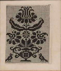 flower and birds design for lacemaking Cross Stitch Samplers, Cross Stitch Charts, Cross Stitch Designs, Cross Stitching, Cross Stitch Patterns, Folk Embroidery, Cross Stitch Embroidery, Embroidery Patterns, Chart Design