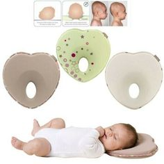 Pillow Inventive Anti-roll Pad Flat Headrest Washable New Design Soft Colored Cotton Embroidery Child Sleep Locator Baby Bear Shaping Pillow A Complete Range Of Specifications