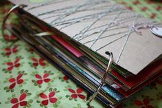 Christmas Card Booklet by Sara & Sarah! - HoneyBear Lane
