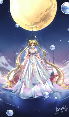 Bishoujo Senshi Sailor Moon, Tsukino Usagi, Princess Serenity