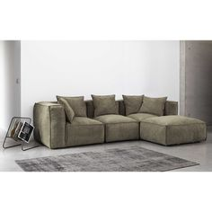 wohnlandschaft saneta 326x208cm schwarz grau mit bett living pinterest wohnlandschaft. Black Bedroom Furniture Sets. Home Design Ideas