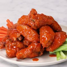 The Best Crispy Buffalo Wings