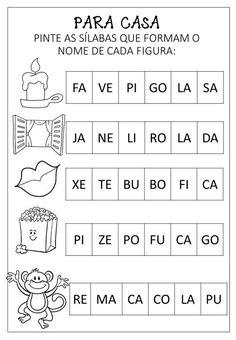 Atividades Variadas De AlfabetizaÇÃo - Criar Recriar Portuguese Lessons, Learn Portuguese, Supernanny, Subtraction Worksheets, Butterfly Life Cycle, Classroom Behavior, Word Problems, Life Cycles, Primary School