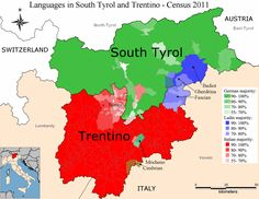 Languages in Trentino-Alto Adige