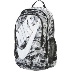 a3ad88d32 Nike Backpacks & Bum Bags ($46) ❤ liked on Polyvore featuring bags, grey