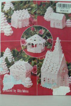 Pattern The Thread Crochet Christmas por hillcountryvintage