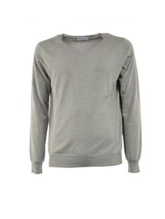DONDUP Dondup Grey V Neck Sweater. #dondup #cloth #sweaters