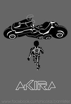 xombiedirge:  AKIRA / Tron by Nicolas Bannister
