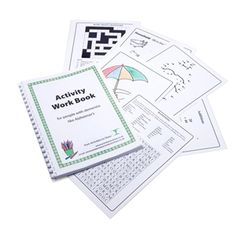 Our Alzheimer's workbook includes 72 photocopiable pages of colouring; dot to dot puzzles; word searches; reminiscence crosswords and simple arithmetic, ideal for people in care homes with a dementia like Alzheimers.