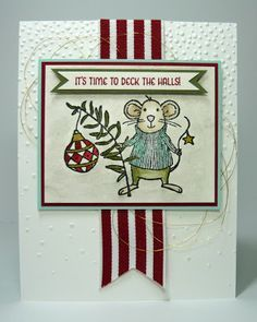 Merry mice stampin up ideas - Google Search