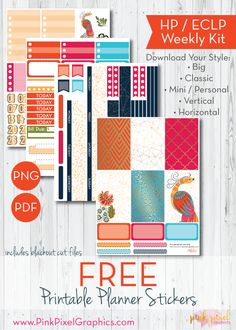 Gilded Art Deco free planner stickers to print and cut at home. Lots of planner sizes: Happy Planner, Erin Condren and more. Free Planner, Planner Pages, Happy Planner, Planner Ideas, Printable Planner Stickers, Free Printable, Printables, Planner Organisation, Art Deco
