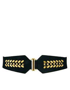 Oasis Elastic Metal Petal Waist Belt