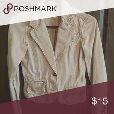 Blazer Heavy cotton; dress up or down! Aeropostale Jackets & Coats Blazers