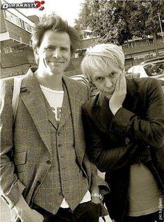 Nick Rhodes and John Taylor - Duran Duran.