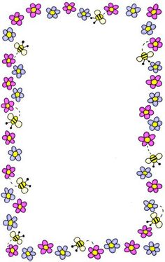 1000 Images About BORDES DECORADOS On Pinterest Picasa Page Borders And Flower Frame
