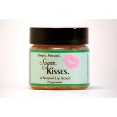 Sugar. Kisses. Peppermint lip scrub (1 oz)