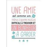 Quotes and inspiration QUOTATION - Image : As the quote says - Description Carte postale message Une amie Un bonheur à garder Kiub Sharing is love, sharing is everything Bff, Message Positif, Phone Messages, Quote Citation, French Quotes, Friends Are Like, Slogan, Positive Quotes, Positive Psychology