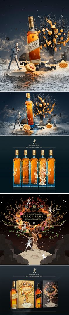 Bernstein & Andriulli - News - Johnnie Walker's Mid-Autumn Festival Campaign by Shotopop