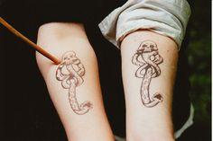 dark mark tattoo...