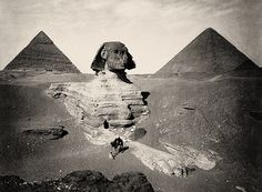 Great Sphinx of Giza - (2589-2504 BC)