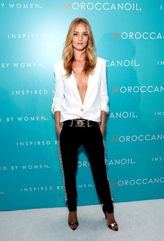 El estilo de Rosie Huntington-Whiteley