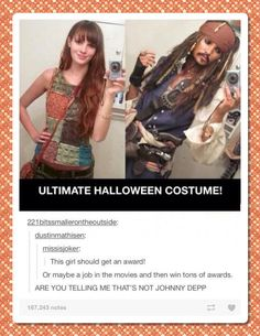 Ultimate Halloween costume…