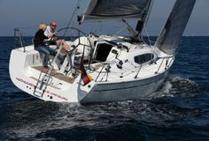 Dehler 35 Yacht Charter, 2 cabins, 4+2 berths. Available for charter in Croatia, Greece, Italy and Turkey.